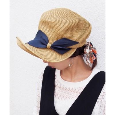 帽子 キャスケット ペーパー ロングブリムキャスケット  つば広めキャスケット