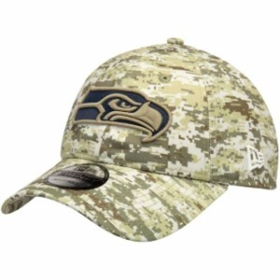 New Era ニュー エラ スポーツ用品  New Era Seattle Seahawks Camo Digi 9TWENTY Adjustable Hat