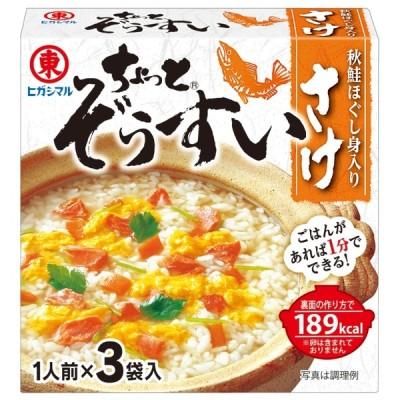 ヒガシマル醤油 ヒガシマル チョット雑炊 鮭