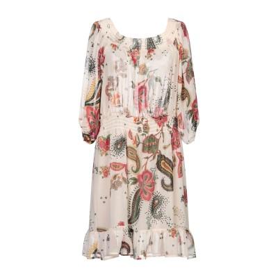 リュー ジョー LIU •JO ミニワンピース&ドレス ベージュ 40 ポリエステル 100% ミニワンピース&ドレス