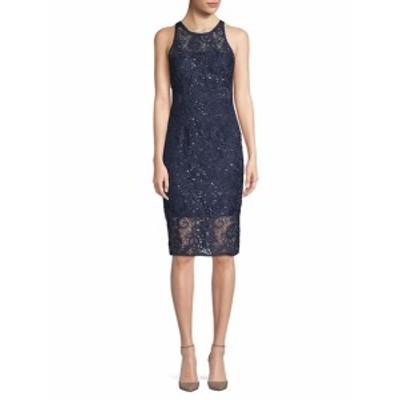 エイダンマトックス レディース ワンピース Sleeveless Lace Dress