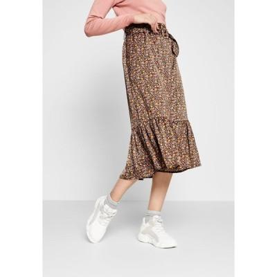 ヤス トール スカート レディース ボトムス YASSIERRA MIDI SKIRT - A-line skirt - black