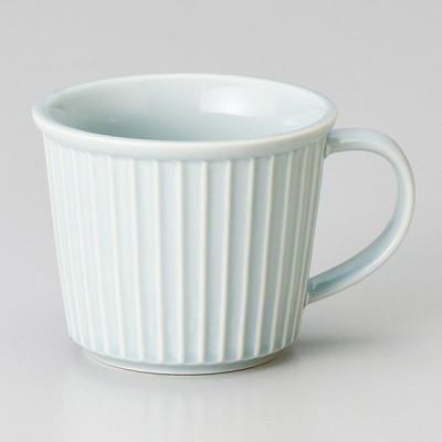 和食器 ブルーレリーフ マグカップ 大 コーヒー 珈琲 紅茶 カフェ おしゃれ 陶器 うつわ おうち 軽井沢 春日井 ギフト