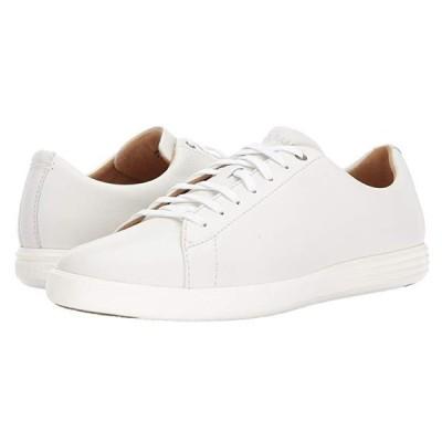 コールハーン Grand Crosscourt II メンズ スニーカー 靴 シューズ White Leather