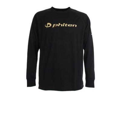 ファイテン(PHITEN)RAKUシャツ スムースドライ BKGD 3120JG35400