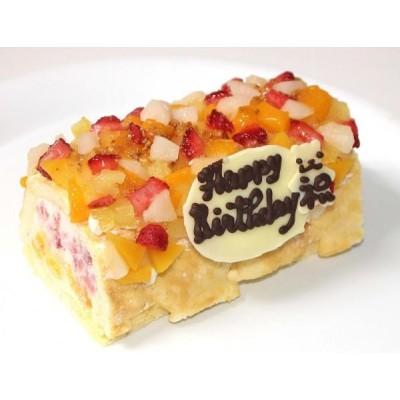 生乳アイスクリームロールフルーツアイスケーキ 13.5cm