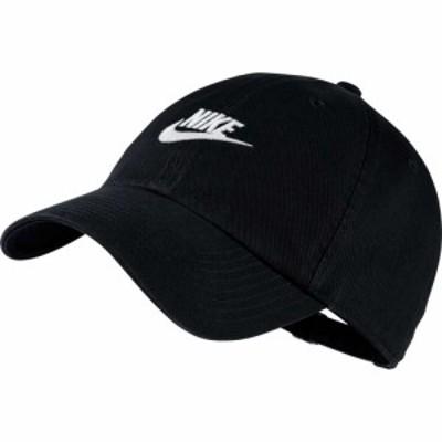 ナイキ Nike メンズ キャップ 帽子 Sportswear H86 Cotton Twill Adjustable Hat Black/Black/White