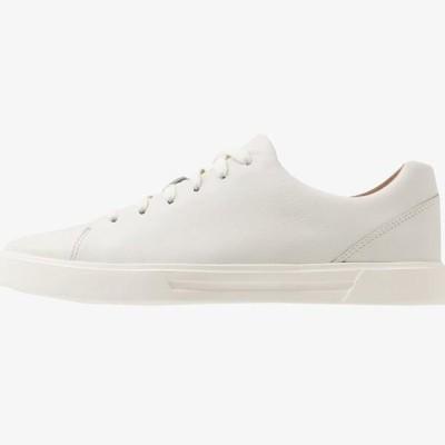 クラークス メンズ 靴 シューズ COSTA LACE - Trainers - white