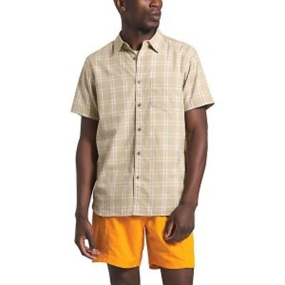 (取寄)ノースフェイス メンズ ハメット 2 SS シャツ The North Face Men's Hammetts II SS Shirt Twill Beige Check Plaid