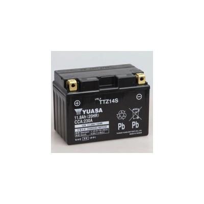 台湾ユアサ バイク用バッテリー (電解液注入・充電済)(他商品との同時購入不可) TTZ14S 返品種別B