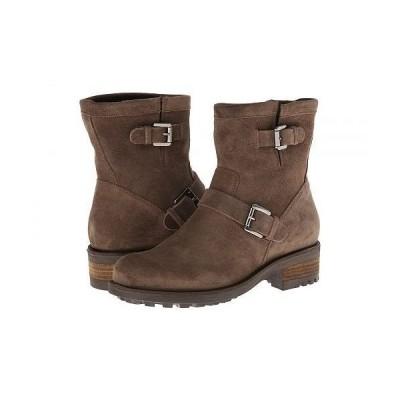 La Canadienne ラカナディアン レディース 女性用 シューズ 靴 ブーツ ライダーブーツ Charlotte - Stone Oiled Suede