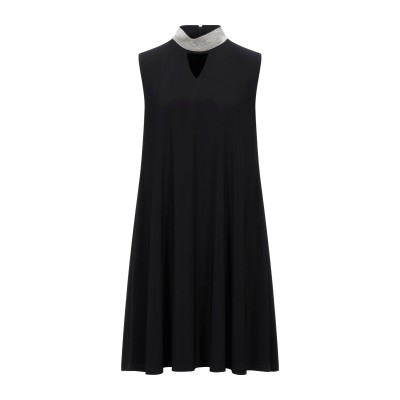 JOSEPH RIBKOFF ミニワンピース&ドレス ブラック 8 ポリエステル 96% / ポリウレタン 4% ミニワンピース&ドレス