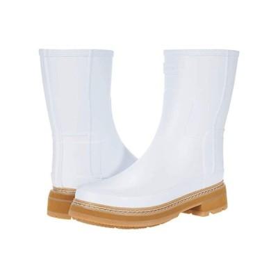 ハンター Refined Short Stitch Detail Wellington Boots レディース ブーツ Spurrey