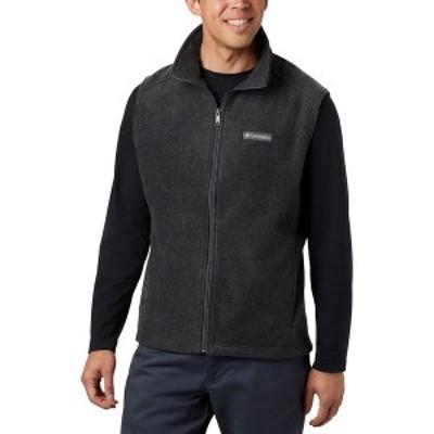 コロンビア メンズ ジャケット&ブルゾン アウター Men's Steens Mountain Vest Charcoal Heather