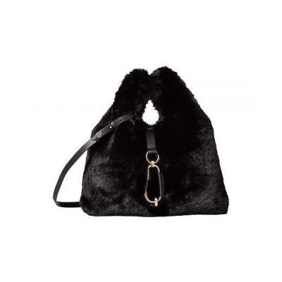 ZAC Zac Posen ザック レディース 女性用 バッグ 鞄 ショルダーバッグ バックパック リュック Belay Shopper - Faux Fur - Black