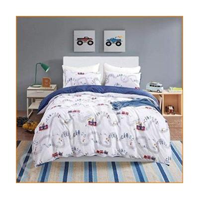 Wellboo マンガ寝具セット 女の子 男の子 布団カバー 子供 動物 かわいい寝具セット ドリーミーコットン ツイン