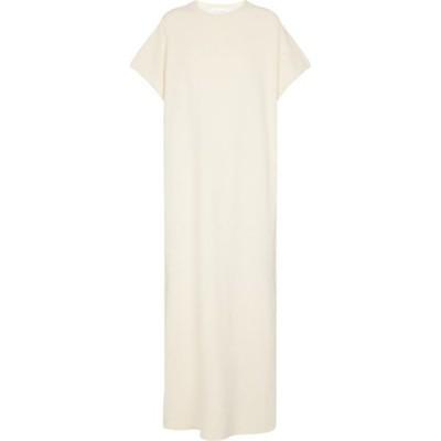 エクストリーム カシミア Extreme Cashmere レディース ワンピース ミドル丈 ワンピース・ドレス N 169 Healing cashmere-blend midi dress Cream