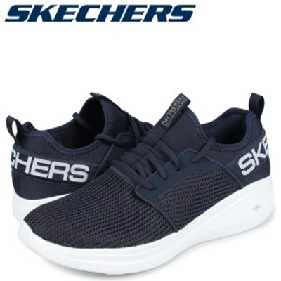 スケッチャーズ SKECHERS ゴーラン スニーカー メンズ GO RUN FAST VALOR ネイビー 55103