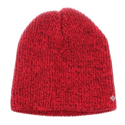 コロンビアニット帽 トレッキング 登山 ホイールバードウォッチキャップビーニー CU9309 614レッドF