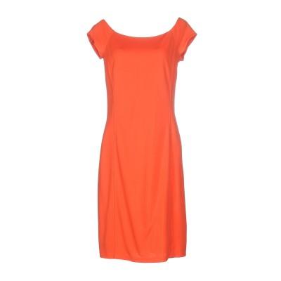 RALPH LAUREN BLACK LABEL ミニワンピース&ドレス オレンジ 8 レーヨン 89% / ナイロン 11% ミニワンピース&ドレス