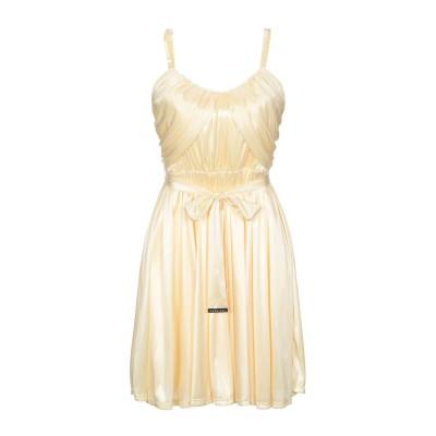MARCIANO ミニワンピース&ドレス イエロー XXS ポリエステル 100% ミニワンピース&ドレス