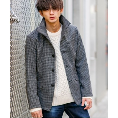 En serio TOKYO / ライト ツイード / イタリアンカラー スタイリッシュ コンパクト ジャケット MEN ジャケット/アウター > テーラードジャケット