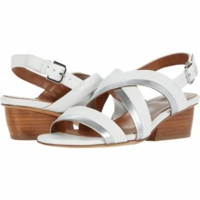 ナチュラライザー Naturalizer レディース サンダル・ミュール シューズ・靴 Cecilia White Leather