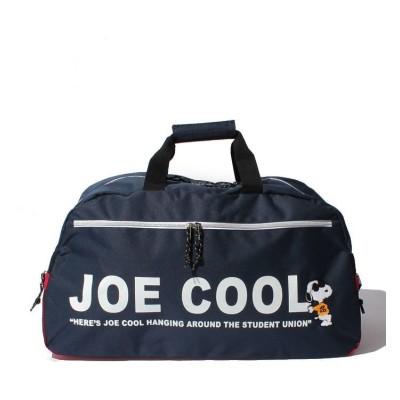 【ランナー】 ジョー・クール サガラ刺繍 ボストンバッグ ユニセックス ネイビー フリー RUNNER