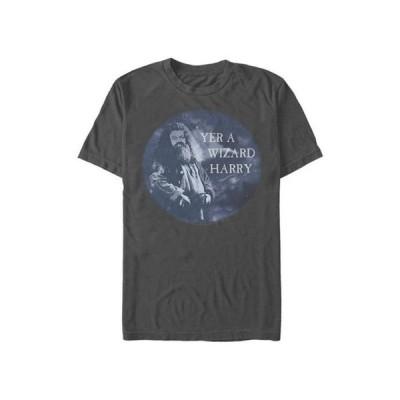 フィフスサン メンズ Tシャツ トップス  Harry Potter Yer A Wizard Graphic T-Shirt