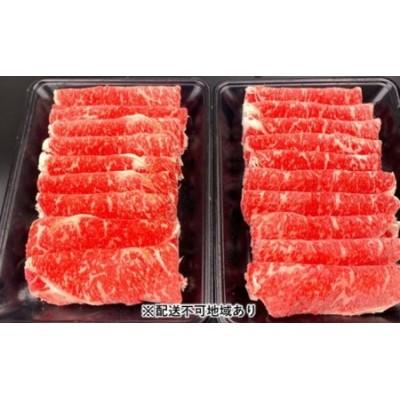 黒毛和牛 ロース スライス(経産)600g【配送不可:離島】