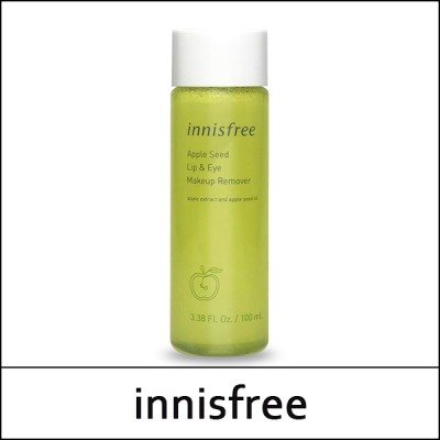[innisfree] ★Big Sale★ Apple Seed Lip and Eye Makeup Remover 100ml / lip and eye remover