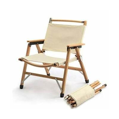 TOMOUNT クラシックチェア 木製 ウッド アウトドア チェア コンパクト収納 脚キャップ 折りたたみ椅子 耐荷重100