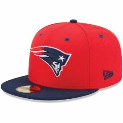 New Era ニュー エラ スポーツ用品  New Era New England Patriots 2Tone 59FIFTY Fitted Hat - Red