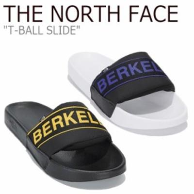 ノースフェイス スリッパ THE NORTH FACE T-BALL SLIDE ティーボール スライド YELLOW イエロー PURPLE パープル NS98L84A/B/J シューズ