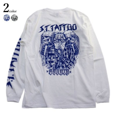 S.T. TATTOO STUDIO - JASON BROWN L/S T-SHIRT Suicidal Tendencies 長袖 長袖Tシャツ ロンT メンズ タトゥー ストリート ブランド