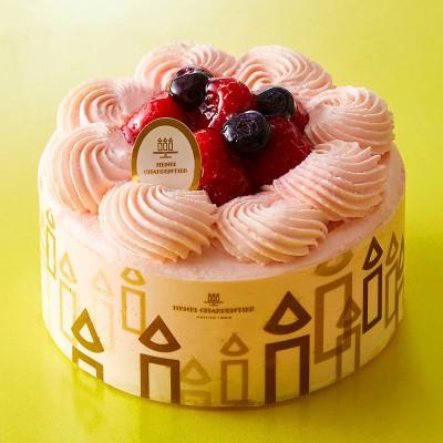HENRI CHARPENTIER アンリ・シャルパンティエ  ザ・ショートケーキ<フランボワーズ>12cmG