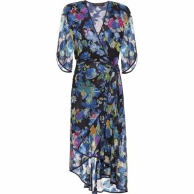 エトロ Etro レディース ワンピース ラップドレス ミドル丈 ワンピース・ドレス Floral Silk-Blend Midi Wrap Dress