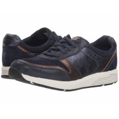 Rockport ロックポート レディース 女性用 シューズ 靴 スニーカー 運動靴 TruStride Ubal Blue Leather【送料無料】