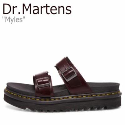 ドクターマーチン サンダル Dr.Martens メンズ レディース MYLES マイルス BROWN ブラウン 23523211 シューズ