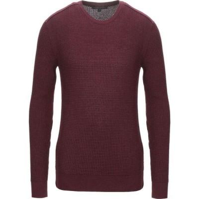 ジョン バルベイトス JOHN VARVATOS U.S.A. メンズ ニット・セーター トップス sweater Maroon