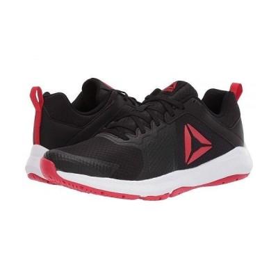 Reebok リーボック メンズ 男性用 シューズ 靴 スニーカー 運動靴 Edge Series TR - Black/White/Primal Red
