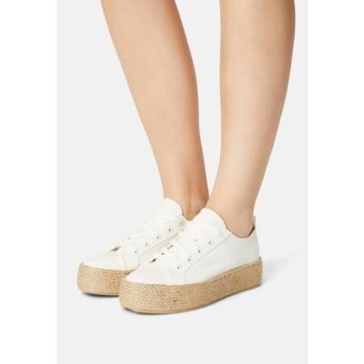 レディース 靴 シューズ Casual lace-ups - off-white