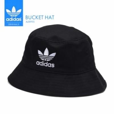アディダス 帽子 メンズ レディース adidas バケットハット BUCKET HAT AJ8995 スポーツ ユニセックス ブラック ストリート スポーツ 男