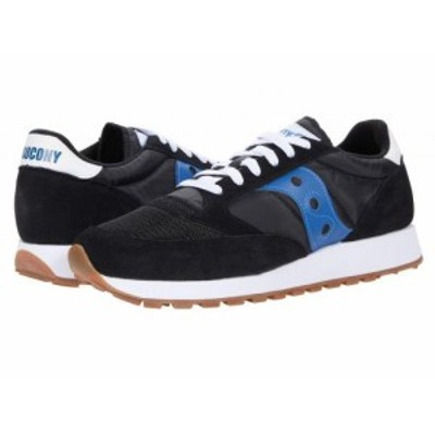 Saucony Originals サッカニー メンズ 男性用 シューズ 靴 スニーカー 運動靴 Jazz Original Vintage Black/Blue【送料無料】
