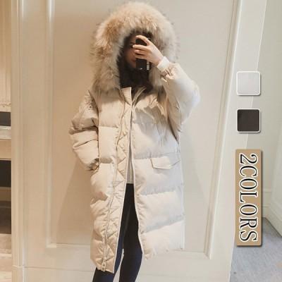 秋冬コート レディース  ダウン  韓国風 中綿 レディース ダウン   カジュアル かわいい 長袖コート オシャレ 通勤通学 女らしさ 暖かい