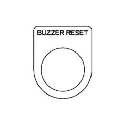 IM 押ボタン/セレクトスイッチ(メガネ銘板) 黒 Φ22.5 P22-40