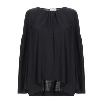アリジ ALYSI T シャツ ブラック 44 コットン 50% / レーヨン 50% T シャツ