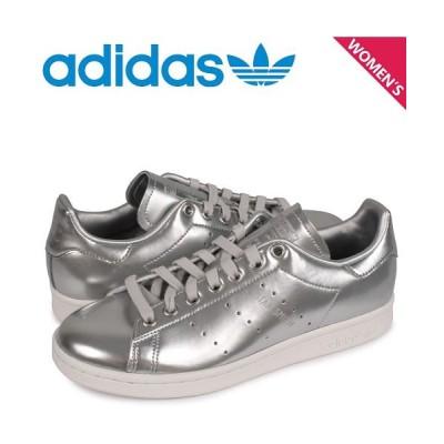 【スニークオンラインショップ】 アディダス オリジナルス adidas Originals スタンスミス スニーカー レディース STAN SMITH W シルバー FW5477 [1/10 レディース その他 US6.0-23.0 SNEAK ONLINE SHOP