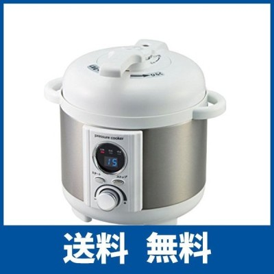 AL COLLE(アルコレ) 電気圧力鍋1.2L ホワイト LPCT12W
