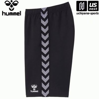 ヒュンメル チームハーフパンツ HAT6098 (90)ブラック 2021年春夏モデル [取り寄せ][自社](メール便不可)(P3倍)